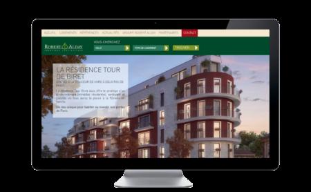 Robert Alday Immobilier : renouvellement de sa communication en ligne