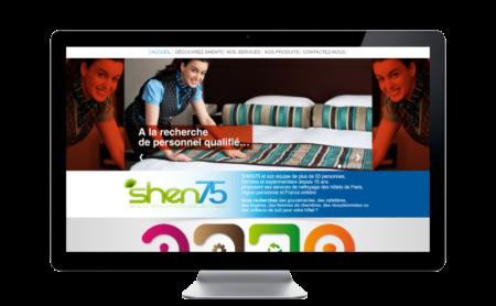 SHEN75, professionnel du nettoyage hôtelier lance son premier site Internet avec REZO 21