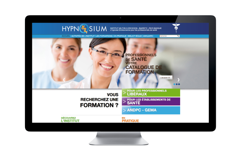 Hypnosium.com, une refonte complète