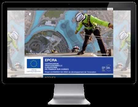 REZO 21, création de sites Internet développe le site multilingue du projet européen EPCRA