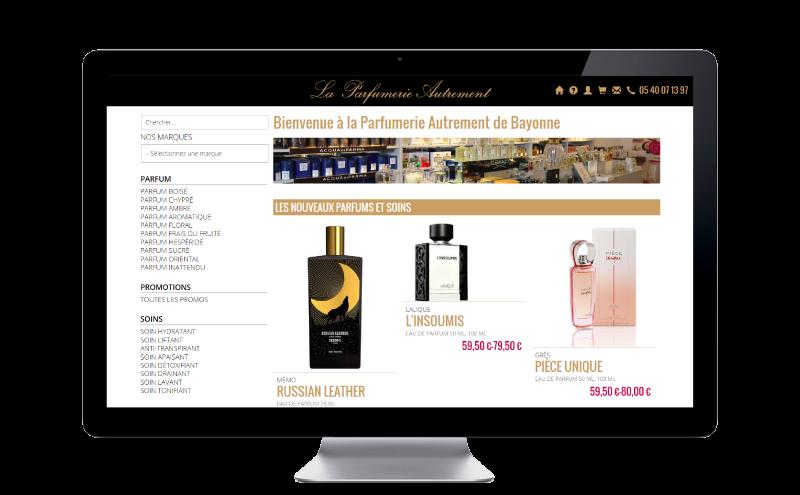 La Parfumerie Autrement de Bayonne lance son e-commerce