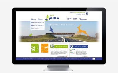 ALBEA inaugure l'autoroute A150 et renouvelle son site Internet à cette occasion