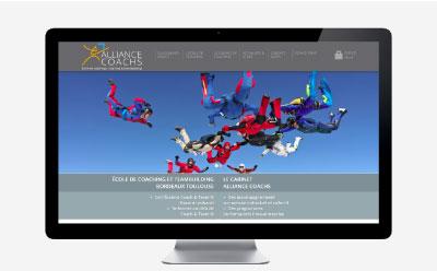 Alliance Coachs, cabinet de coaching confie la refonte de son site Internet à REZO 21