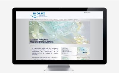 Laboratoire Bioluz : une refonte du site Internet