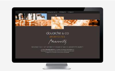 Le cabinet d'architectes Douarche & co met en ligne son site Internet