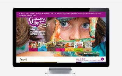 Grenadine et Crayonnade, un parc de jeux pour enfants d'un nouveau genre