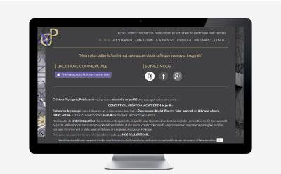 Patxi Castro met à jour la structure de son site Internet