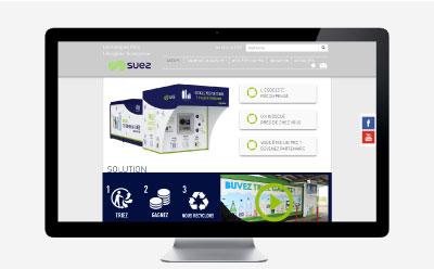 Réco France, filiale de Suez Environnement fait évoluer son site Internet