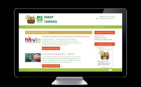 Premier mécénat pour le site Internet de l'AMAP de Tarnos
