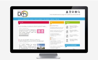 L'ANDRHDT change son logo et son portail Internet avec l'agence web REZO 21