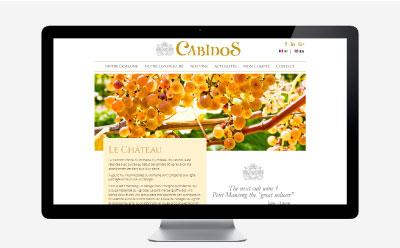 Une nouvelle boutique en ligne pour le domaine viticole du Château de Cabidos