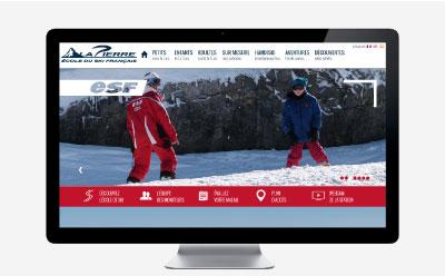 Un nouveau site pour la nouvelle saison hivernale de l'ESF La Pierre Saint-Martin
