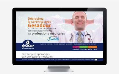 Gesadour lance la refonte de son site Internet