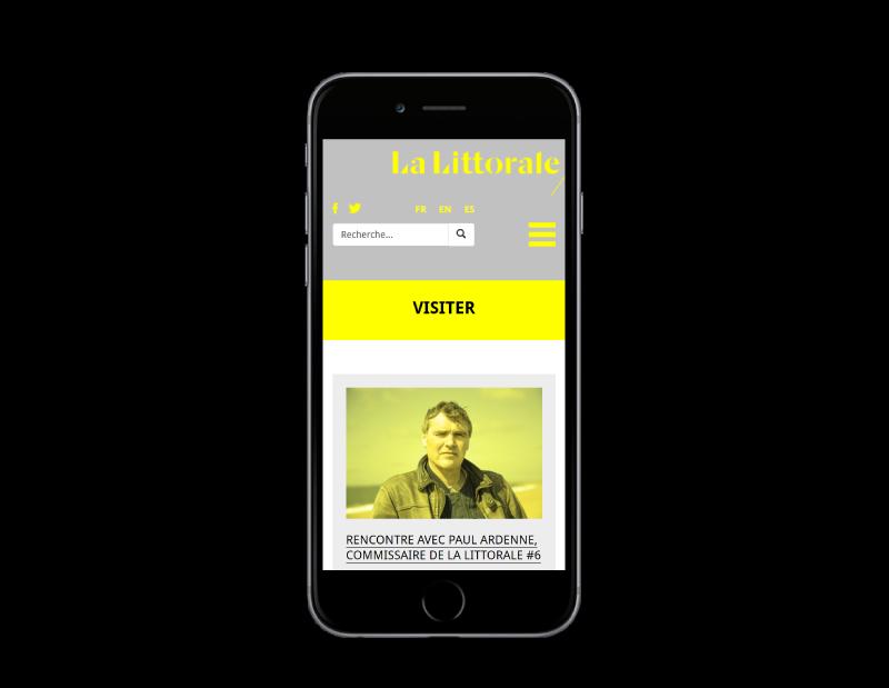 La biennale d'Art contemporain de la ville d'Anglet lance son site Internet
