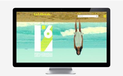 La ville d'Anglet lance la communication de La Littorale #6, biennale d'art contemporain