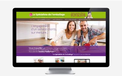 Le spécialiste de l'emballage renouvelle son site Internet avec l'agence web REZO 21