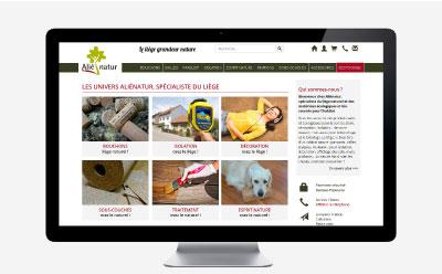 Alienatur, boutique spécialisée dans la vente de produits à base de liège confie le renouvellement de son e-commerce à l'agence web REZO 21