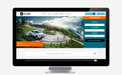 Le groupe Clim lance sa plateforme de vente de véhicules d'occasion www.byclim.com avec l'agence web REZO 21