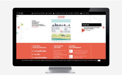 Le CAUE 64 refond son site Internet avec l'agence web d'Anglet REZO 21