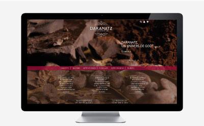 Daranatz, chocolatier confiseur à Bayonne depuis 1890 ouvre sa nouvelle boutique en ligne responsive