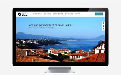 Un tout nouveau site pour Clim, groupe automobile du sud-ouest de 350 collaborateurs