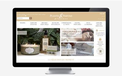 Plantes & Parfums de Provence passe au e-commerce responsive mobile avec WooCommerce en remplacement de Prestashop