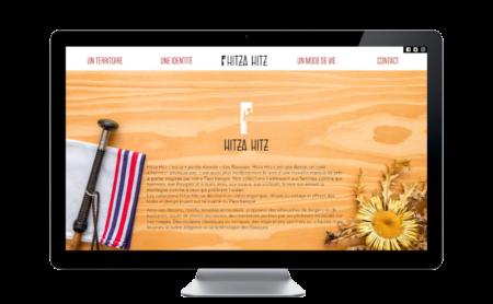 Hitza Hitz, nouvelle marque de vêtements basques basée à Saint-Jean-de-Luz sélectionne l'agence web REZO 21 pour la création de son site Internet