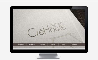 L'agence CréHouse fait confiance à REZO 21 pour la refonte de son site Internet