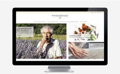 Finessence lance la refonte de sa boutique e-commerce avec l'agence web REZO 21