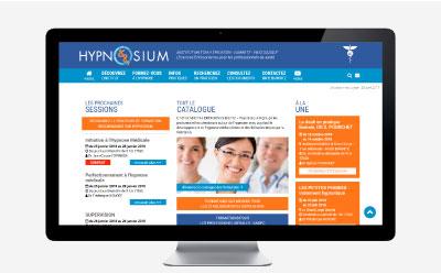 Hypnosium, spécialiste des formations à l'hypnose médicale à Biarritz modifie le thème graphique de son site pour passer au responsive design