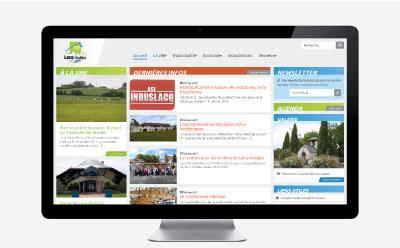 La mairie de Lacq-Audéjos passe son site Internet en mode responsive mobile sous WordPress