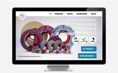 MC Plus confie la création de son site Internet à l'agence web REZO 21