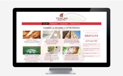 TERCAP renouvelle son site Internet responsive mobile avec l'agence web REZO 21