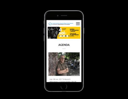 L'ORBCB Bayonne choisit l'agence web REZO 21 Pays Basque pour la refonte de son site Internet responsive mobile