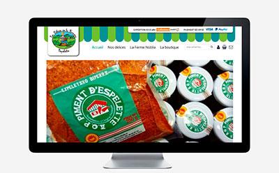 Une nouvelle boutique en ligne pour les Délices de la Fermière à Espelette