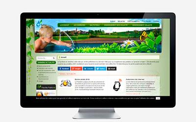 Le syndicat de Gréchez passe son site Internet au responsive mobile avec l'agence web REZO 21 Anglet