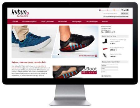 boutique en ligne de vente de chaussures à bayonne woocommerce wordpress