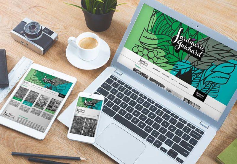 Un nouveau site internet pour la Jardinerie Guichard de Biarritz