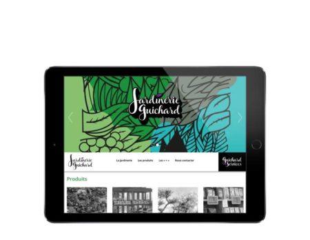 Site internet jardinerie biarritz pays basque tablette
