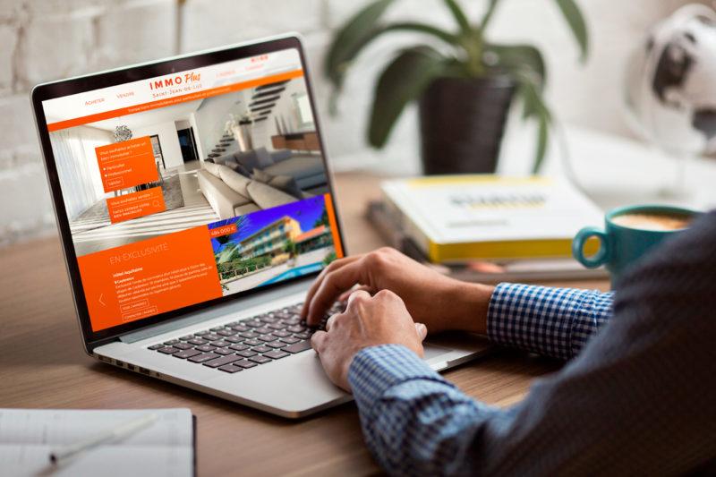 Conception d'un site Internet responsive pour agence immobilière au Pays basque