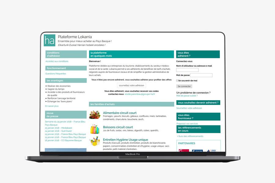 place des marchés privée avec WooCommerce responsive mobile