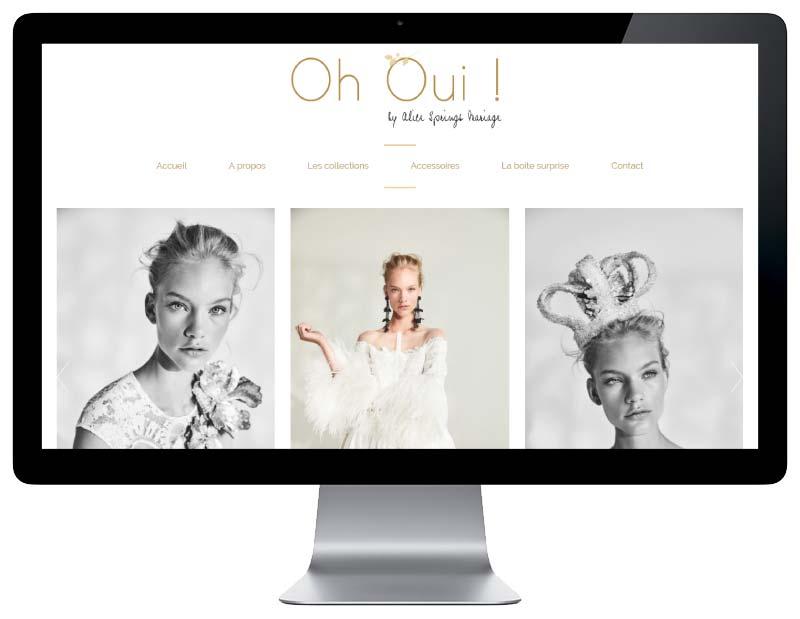 Création du site internet responsive mobile pour une boutique de Biarritz