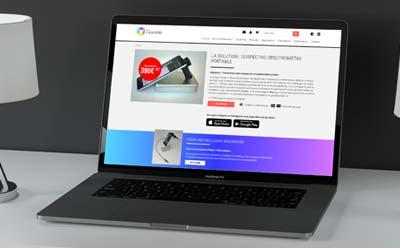 Site internet responsive sur mesure pour une start up