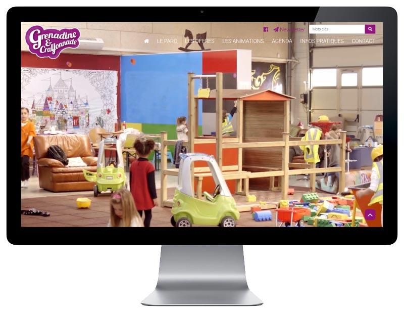 Agence web wordpress pays basque création site sur mesure pour parc de jeux