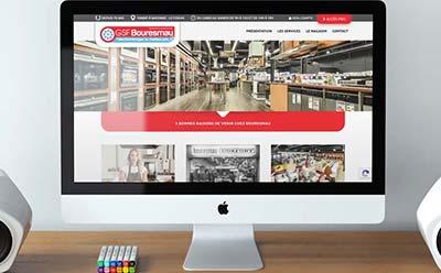 BOURESMAU-GSF fait confiance à l'agence web REZO 21 pour le projet de refonte de son e-commerce pour les professionnels
