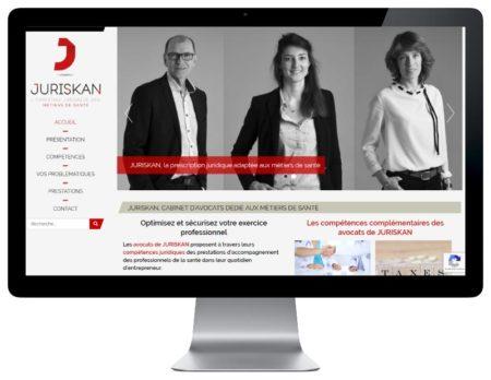 Site Internet WordPress pour cabinet d'avocats au pays basque responsive design