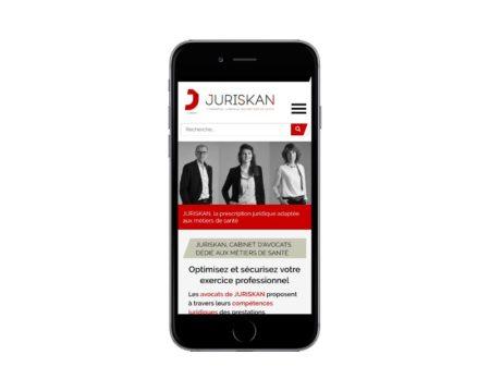 Site Internet WordPress pour cabinet d'avocats au pays basque responsive mobile