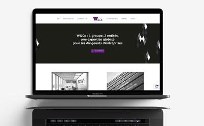 L'agence web REZO 21 développe le nouveau site Internet du groupe W & Co, groupe d'expertise comptable et conseils au dirigeant d'entreprise, en partenariat avec l'agence de communication Bureau 14