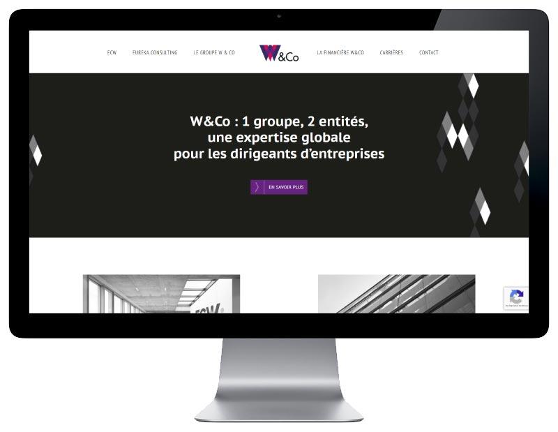 Site Internet cabinet comptable bayonne pays basque responsive desktop