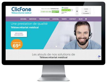 Site wordpress responsive pour service de télésecrétariat médiacl